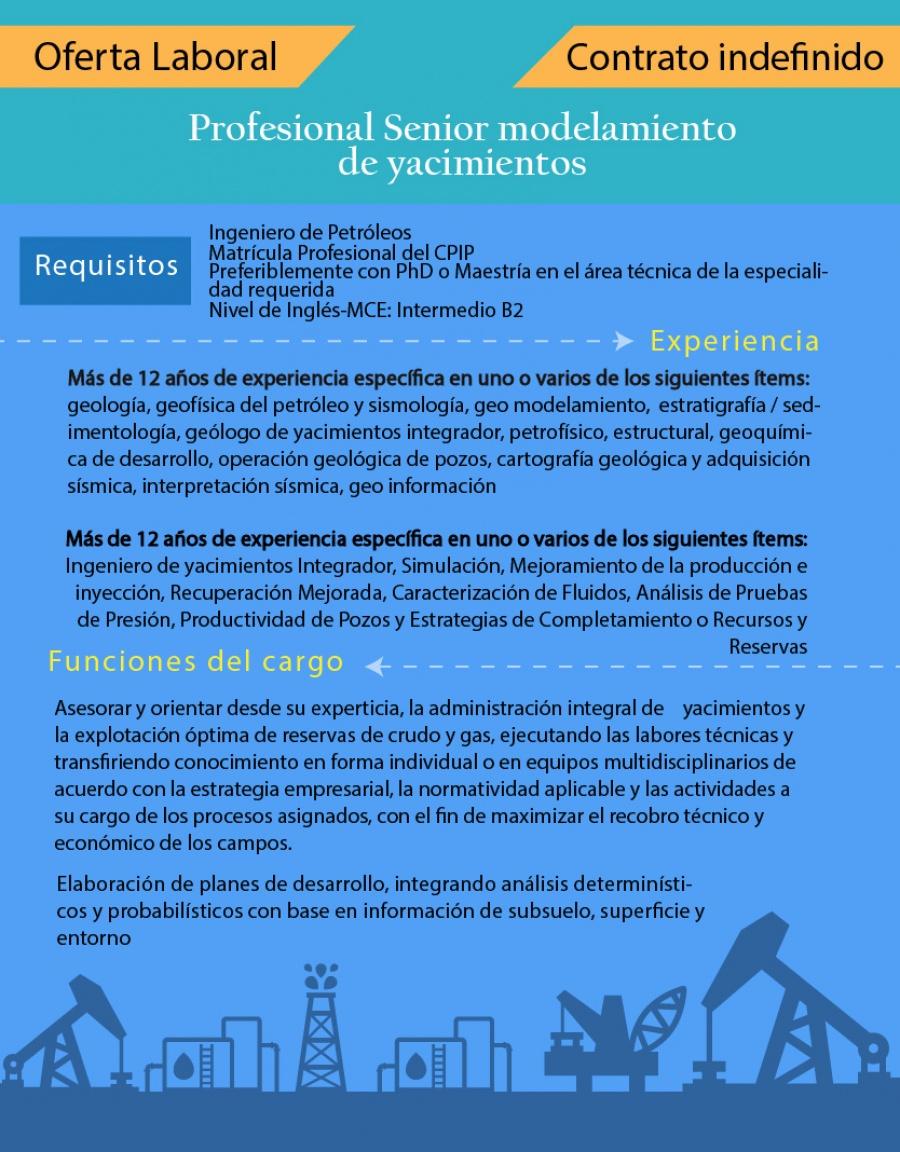 OIL CHANNEL – Convocatoria para Ingenieros de Petróleos Colombia ...