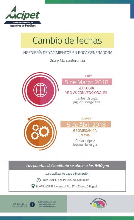 OIL CHANNEL – Invitación al ciclo de conferencias Yacimientos No ...